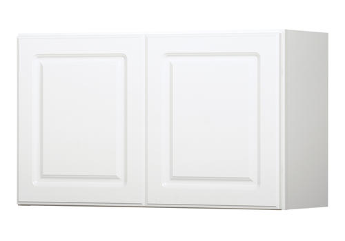 Value choice 30 x 18 ontario white over an appliance for Kitchen cabinets 30 x 18