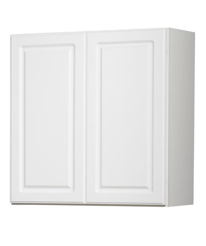 Value choice 30 ontario white standard height wall cabinet at menards - Menards white kitchen cabinets ...