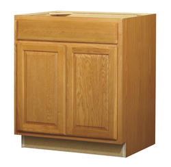 "Value Choice 30"" Huron Oak Standard 2-Door/1-Drawer Base Cabinet"