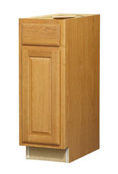 "Value Choice 12"" Huron Oak Standard 1-Door/Drawer Base Cabinet"