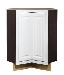 "Value Choice 36"" Ontario White Easy-Reach Corner Base Cabinet"