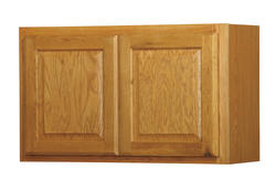 "Value Choice 30"" x 18"" Huron Oak Over-an-Appliance Wall Cabinet"
