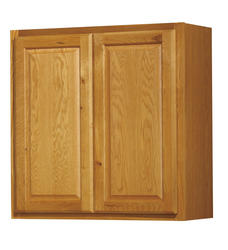 "Value Choice 30"" Huron Oak Standard Height Wall Cabinet"