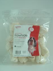 Masterpaws White Rawhide Dog Chew Bone