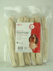 Masterpaws White Rawhide Dog Chew Reteriver Roll