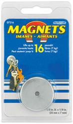 Round Base Magnet (16 lb. Pull)