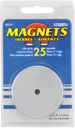 Round Base Magnet (25 lb. Pull)