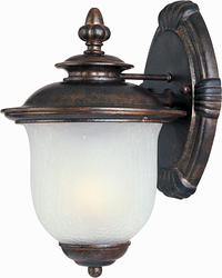 """Pyramid Creations Pyramid Creations Cambria DC 7"""" Chocolate 1-Light Outdoor Wall-Mount Light"""