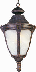 "Pyramid Creations Pyramid Creations Wakefield 27"" Empire Bronze 1-Light Outdoor Hanging Lantern"