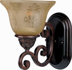 "Pyramid Creations Symphony 7"" Oil Rubbed Bronze 1-Light Wall Sconce"