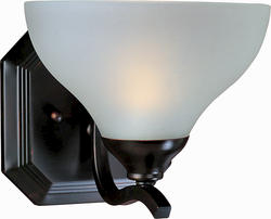 """Pyramid Creations Contour 7.5"""" Oil Rubbed Bronze 1-Light Wall Sconce"""