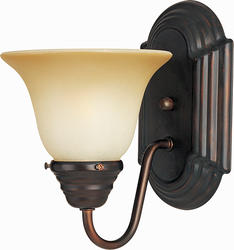 """Pyramid Creations Essentials 6"""" Oil Rubbed Bronze 1-Light Wall Sconce"""