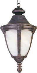"Pyramid Creations Wakefield 11"" Empire Bronze 1-Light Outdoor Hanging Lantern"