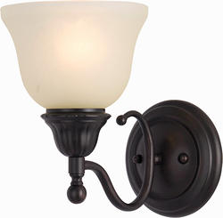 """Pyramid Creations Soho 6"""" Oil Rubbed Bronze 1-Light Wall Sconce"""