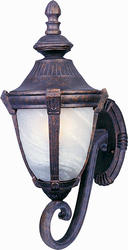 "Pyramid Creations Wakefield 8"" Empire Bronze 1-Light Outdoor Wall-Mount Light"