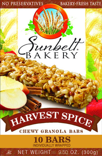 Sunbelt Bakery Chewy Harvest Spice Granola Bars - 10-ct at Menards®