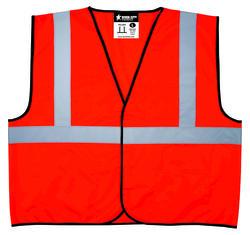 Large High Visibility Vest - Orange