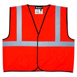 2X Large High Visibility Vest - Orange