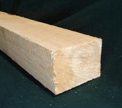 "Meadow Valley 5"" x 8"" x 8' White Pine Smooth Timber"