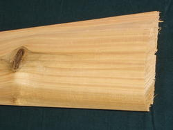 "Meadow Valley MVP 2"" x 8"" x  8' Red Cedar Smooth Shiplap Log Siding"