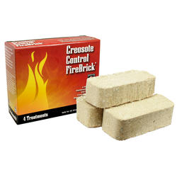 Creosote Control Firebrick - 4 Pack