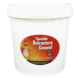 Castable Refractory Cement - 25 Lbs