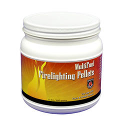 MultiFuel Firelighting Pellets - 1.5 Lb Jar