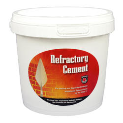 Refractory Cement 1/2 Gallon - Buff Color