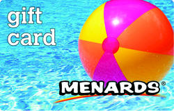 Menards Gift Card - Beach Ball