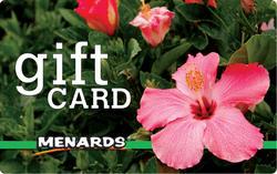 Menards Gift Card - Pink Hibiscus