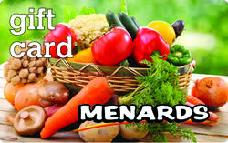 Menards Gift Card - Fall Harvest