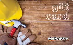 Menards Gift Card - Hard Hat