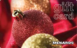 Menards Gift Card - Holiday Bulb