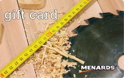 Menards Gift Card - Saw Blade