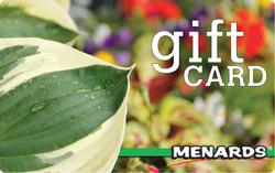 Menards Gift Card - Spring Hosta