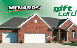 Menards Gift Card - House