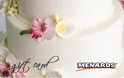 Menards Gift Card - Wedding Cake