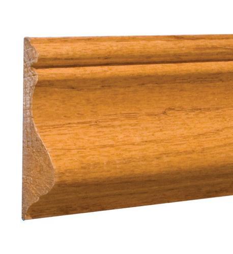 "9/16"" X 2-5/8"" X 8' Prefinished Golden Oak Chair Rail At"