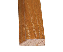 "3/8"" x 1-1/4"" x 7' Prefinished English Chestnut Oak Colonial Stop"