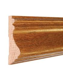 "11/16"" x 2-5/8"" x 8' Prefinished English Chestnut Oak Chair Rail"