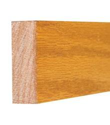"3/4"" x 2"" x 8' Prefinished Solid Golden Oak Screen Stock"