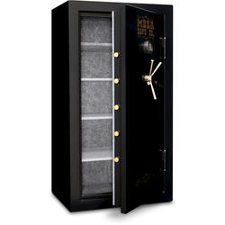 Mesa Safe Company® 14.4 cu. ft. Capacity 4-Shelf Burglary and Fire Safe with Electronic Lock