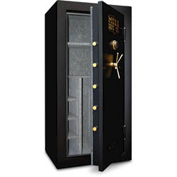 Mesa Safe Company® 22.9 cu. ft. Capacity 32-Gun Burglary and Fire Safe with Combination Lock