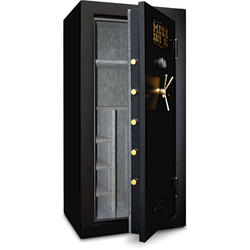 Mesa Safe Company® 22.9 cu. ft. Capacity 32-Gun Burglary and Fire Safe with Electronic Lock