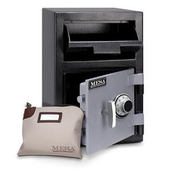 Mesa Safe Company® 0.8 cu. ft. Capacity Depository Safe with Combination Lock