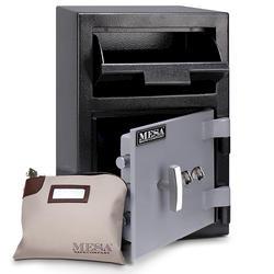 Mesa Safe Company® 0.8 cu. ft. Capacity Depository Safe with Double Key Lock
