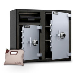 Mesa Safe Company® 6.7 cu. ft. Capacity Depository Safe with Combination Lock