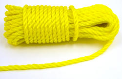 "3/8"" x 50' Twisted Polypropylene Rope"