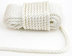 """3/8"""" x 50' Twisted Polyester Rope"""