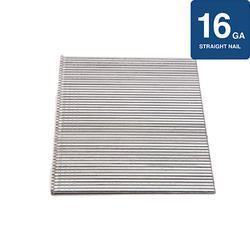 """Grip Fast 2-1/2"""" 16-Gauge Straight Finish Nail - 1,000 Pieces"""